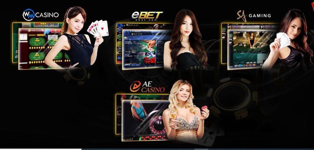 4 đối tác Casino của Typhu88